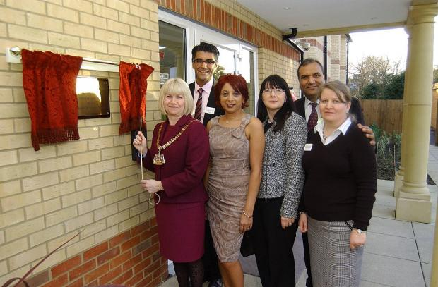 News Shopper: Bexleyheath care home opens with comedy waiters