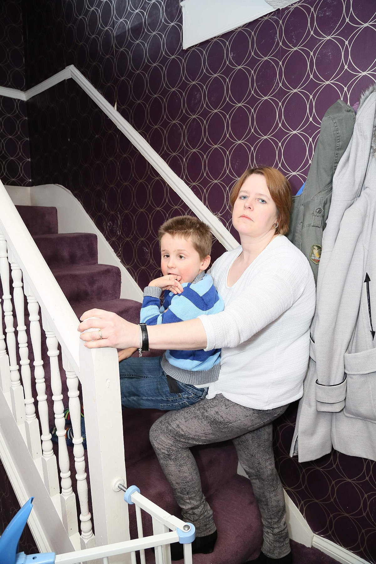Mum despairs as Bexley Council offer extension for disabled boy but no stair lift