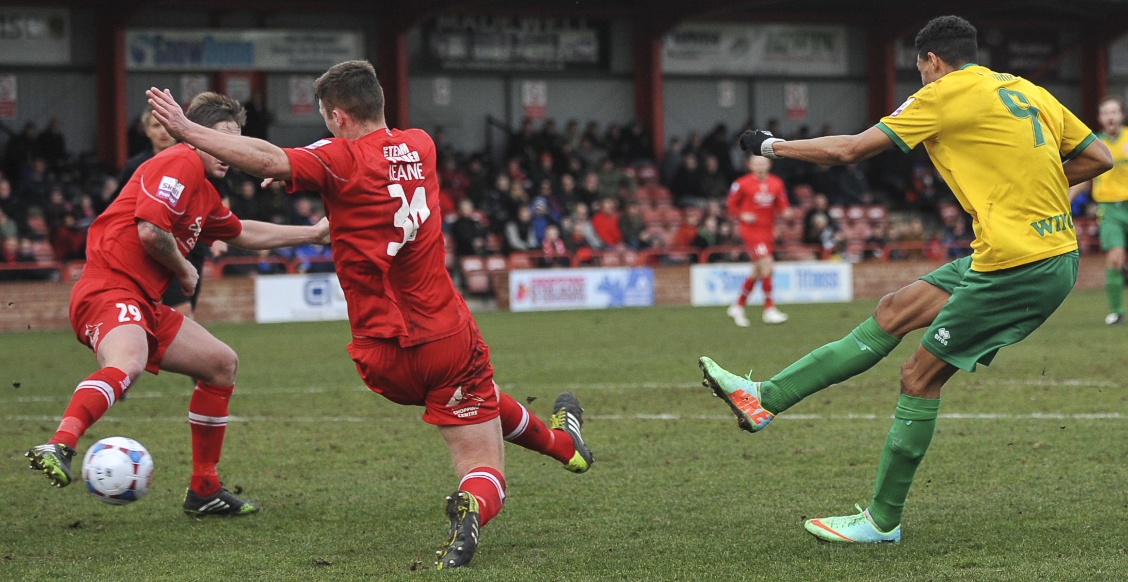 Welling held at Tamworth