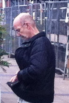 Raymond Barham, 65, outside Bexley Magistrates' Court