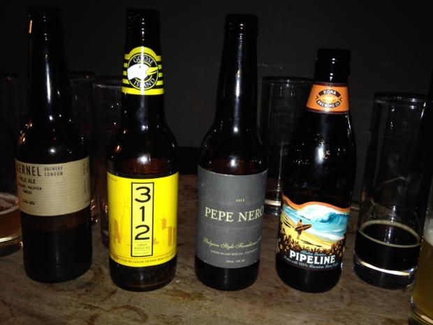 Barrel & Horn has a wonderful selection of craft beers