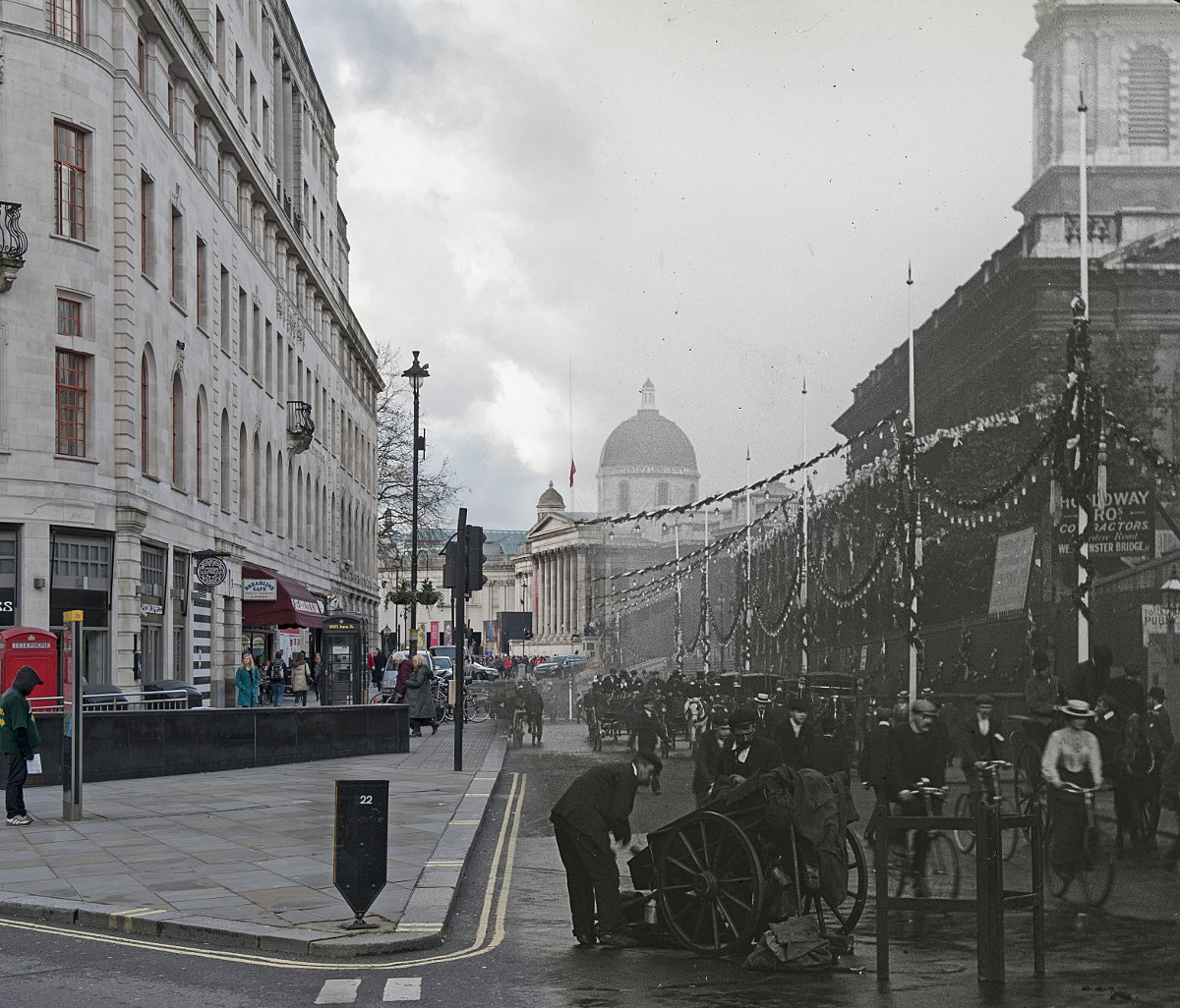 PICTURED: London's ghostly past revealed through the free Streetmuseum app