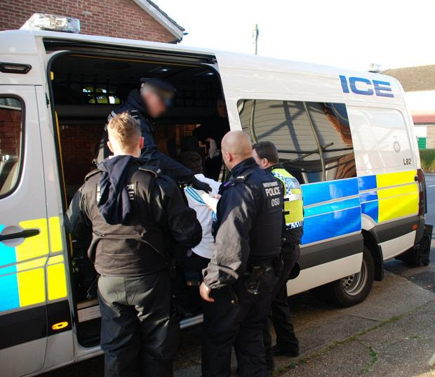 News Shopper: Dartford and Gravesend properties raided by Kent Police in massive operation
