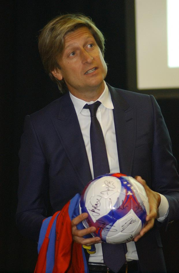 News Shopper: Chairman and co-owner of Crystal Palace FC Steve Parish