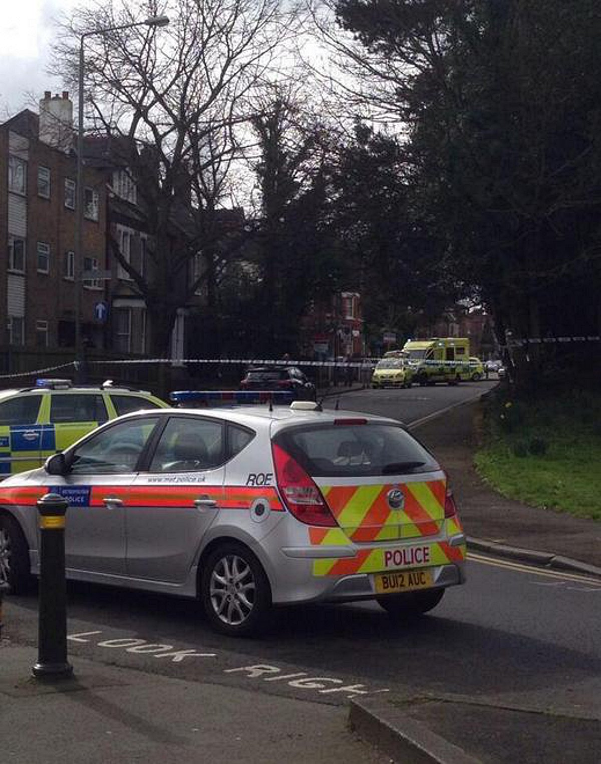 A murder investigation's under way in Bromley
