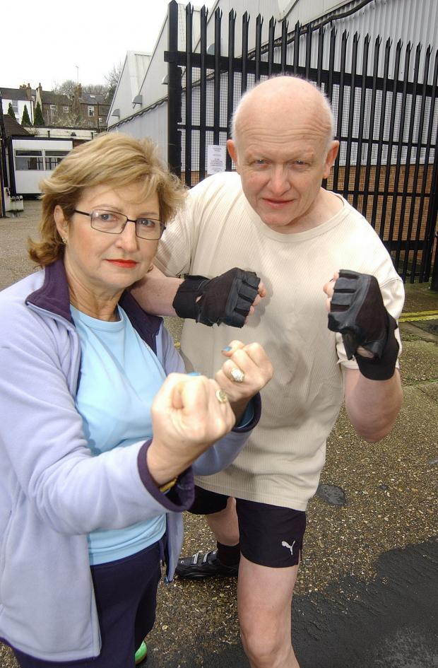 "News Shopper: PLUMSTEAD weightlifters are flexing their muscles and questioning the ""Olympic legacy"" in Greenwich after their gym was closed for two months, pictured Alison Miller and Barry Small"
