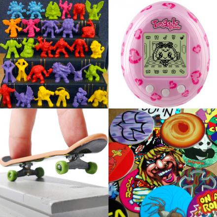 Did you go 'mad for it' over any of these crazes from the 1990s