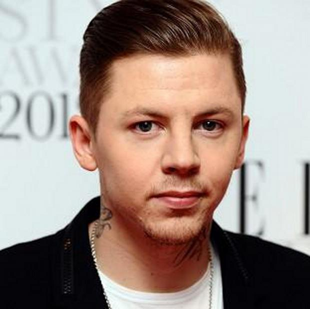 Professor Green is facing a drink-driving charge.