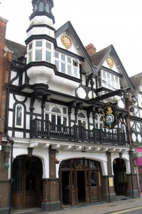 The Star & Garter in Bromley is one of the borough's top 10 pleasures, says Simon Clark. Pic by by Ewan-M, via Flickr