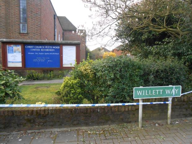 Man charged with sexual assault outside Petts Wood church