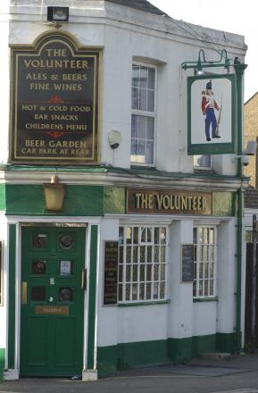 PubSpy reviews The Volunteer, Bexleyheath