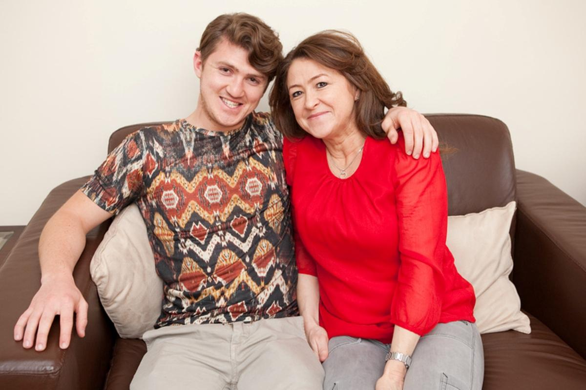 Dartford mum running the marathon for brain charity which helped son who  'should have died'