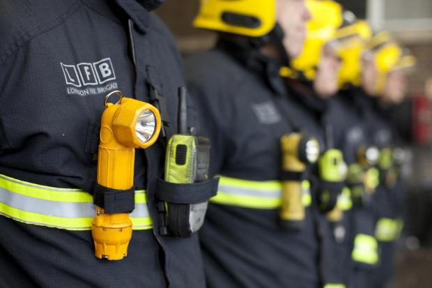 News Shopper: Woman treated for smoke inhalation after house fire in Beckenham