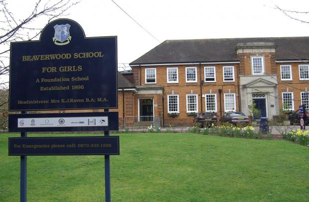 Beaverwood School in Beaverwood Road, Chislehurst