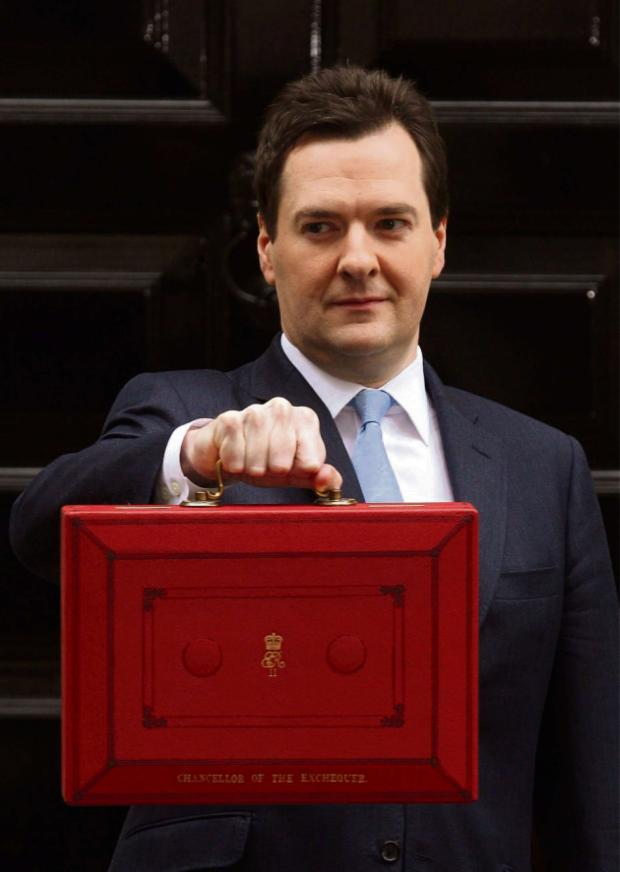 News Shopper: It's budget day again for Chancellor George Osborne.