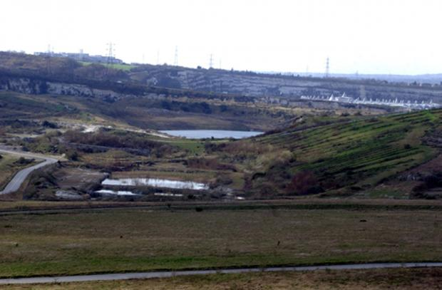 News Shopper: The first look at the Eastern Quarry next to Bluewater where some of the 15,000 homes will be built.