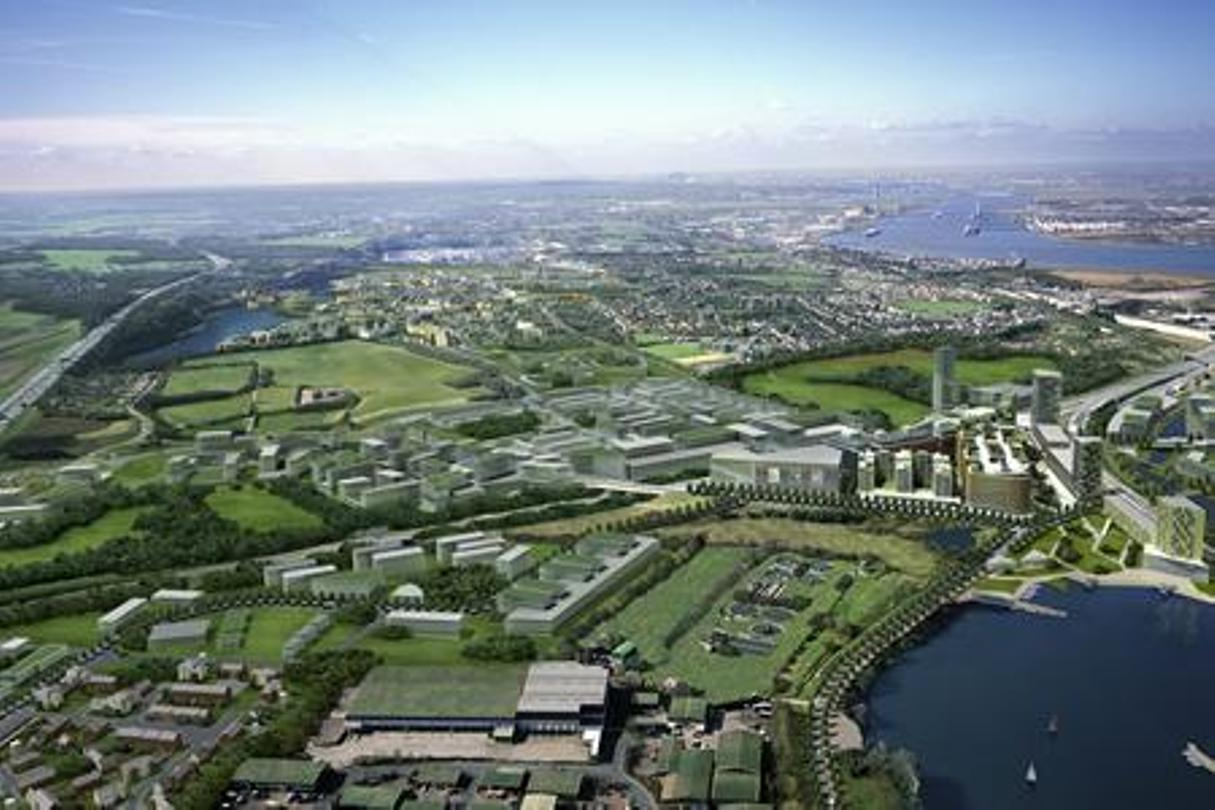 Ebbsfleet Garden City is one of the projects which will benefit