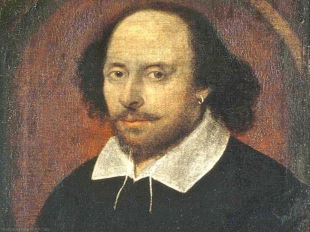 Born 450 years ago, William Shakespeare has been voted England's ultimate claim to fame