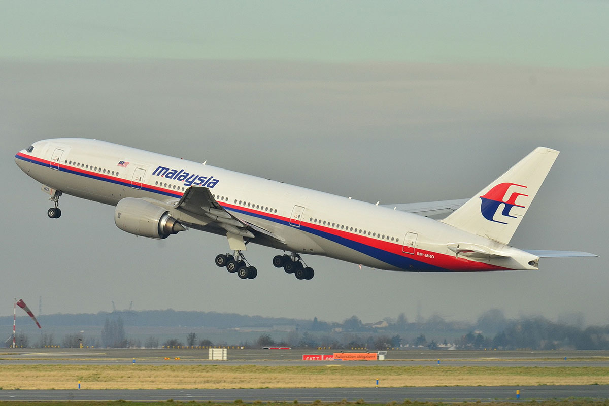 A Malaysian Airlines flight was forced to make an emergency landing yesterday