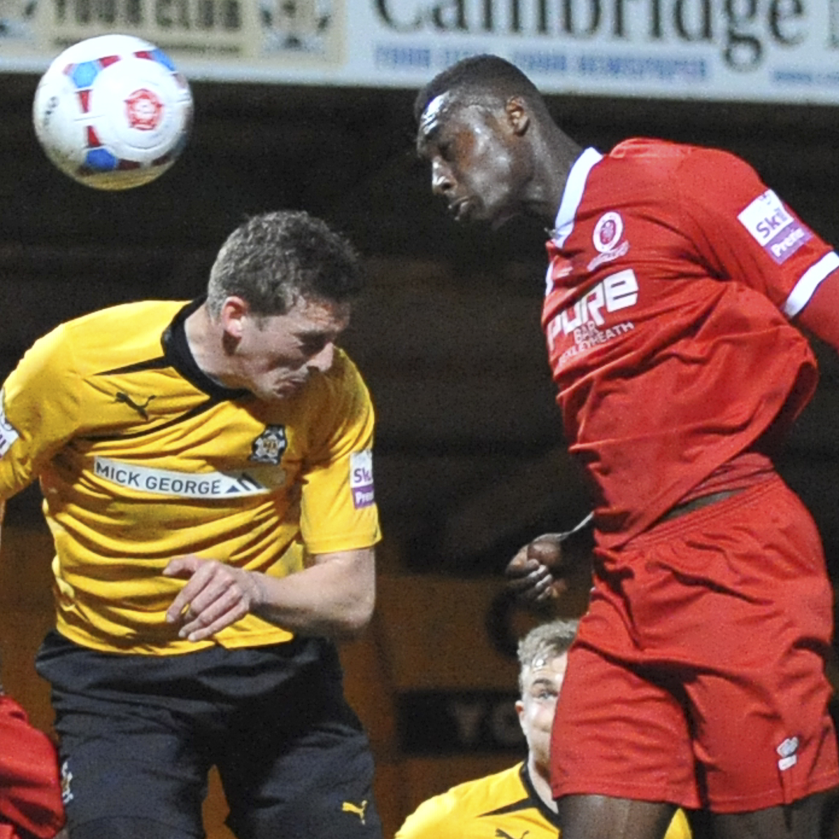 Welling defeated in battle of the Uniteds