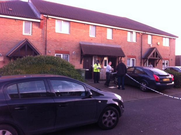 News Shopper: The house was cordoned off yesterday