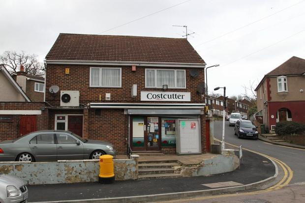Costcutter in Crayford was hit by masked robbers.