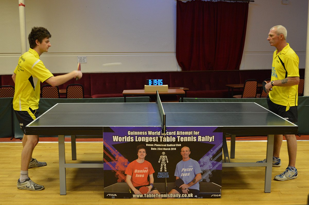 VIDEO: Bexley father and son smash table tennis world record at Plumstead club