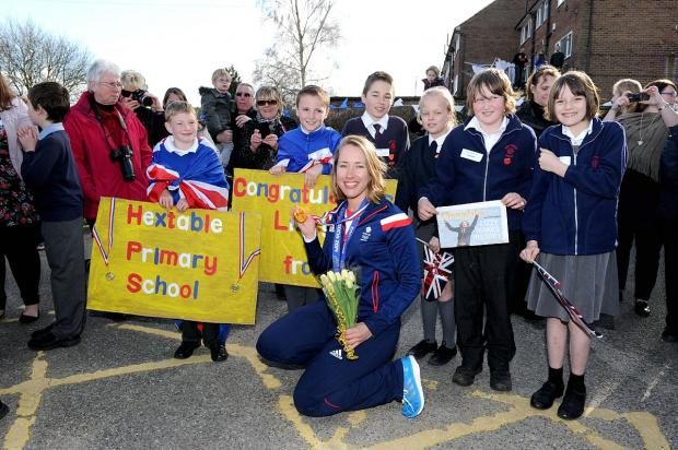 News Shopper: The last stop was in West Kingsdown Primary School
