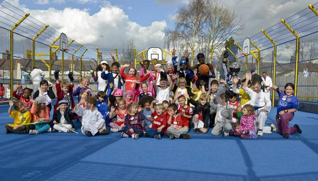 Plumstead Timbercroft multi-use games facility unveiled