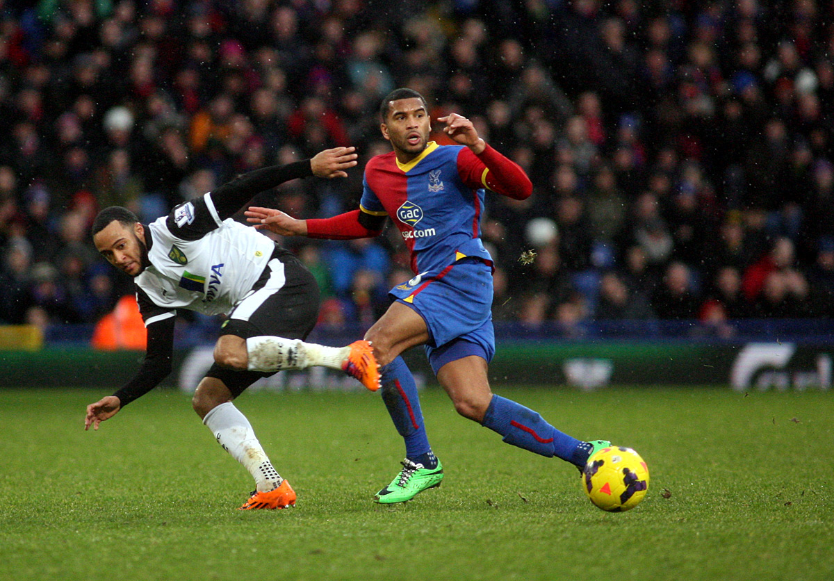 Eagles defender Adrian Mariappa. Picture
