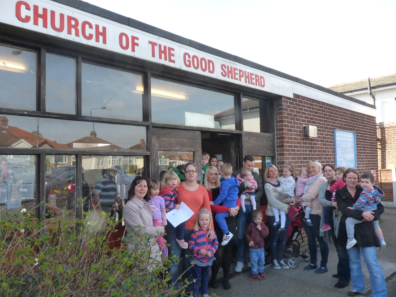 Parents from The Good Shepherd Playgroup in Blackfen.