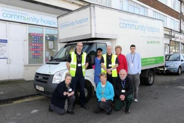 Greenwich and Bexley hospice van still missing