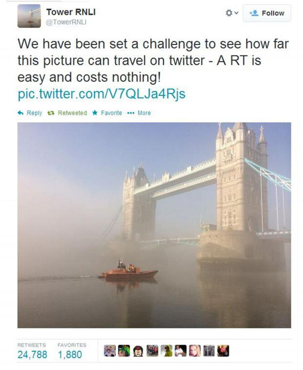 News Shopper: Photo taken by lifeboat volunteer gets retweeted 25,000 times across the globe