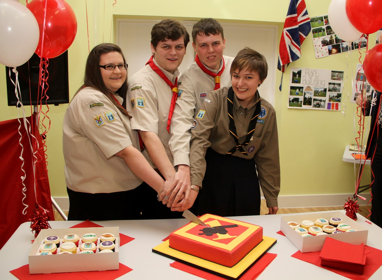 1st Welling Scouts celebrate opening of new headquarters