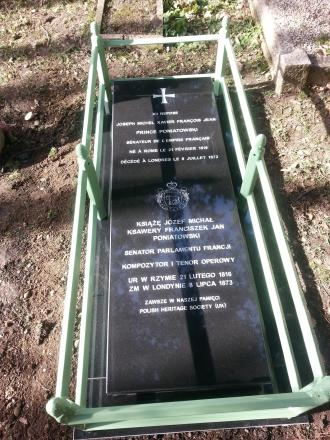 Great nephew of last King of Poland and friend of Napolean III to have Chislehurst grave unveiled