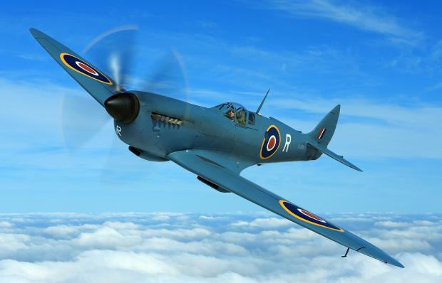 Spitfire to take on Messerschmitt at Biggin Hill Festival of Flight
