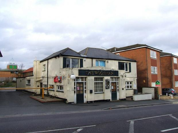 News Shopper: The Woodman pub is soon to be knocked down (picture by Chris Whippet).