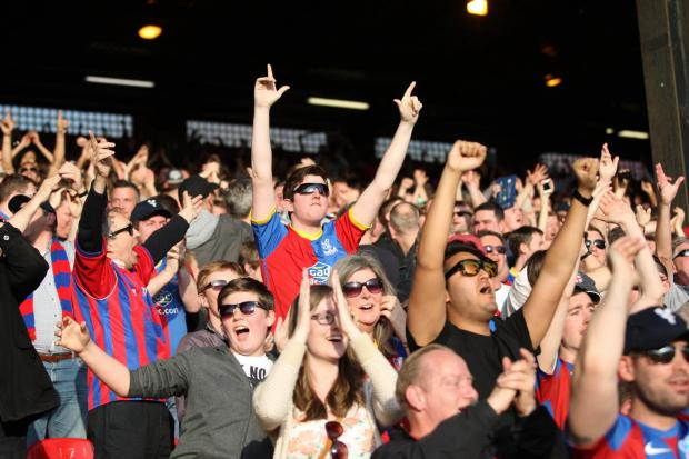 Palace fans are so close to another season of Premier League football.