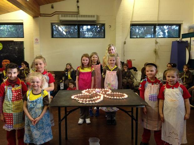 News Shopper: Girlguides from Swanley and Dartford learn about Kenya