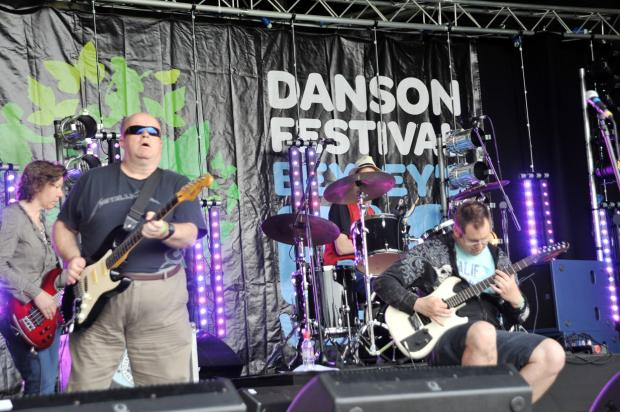 News Shopper: The Echoes onstage in 2012 at the festival.