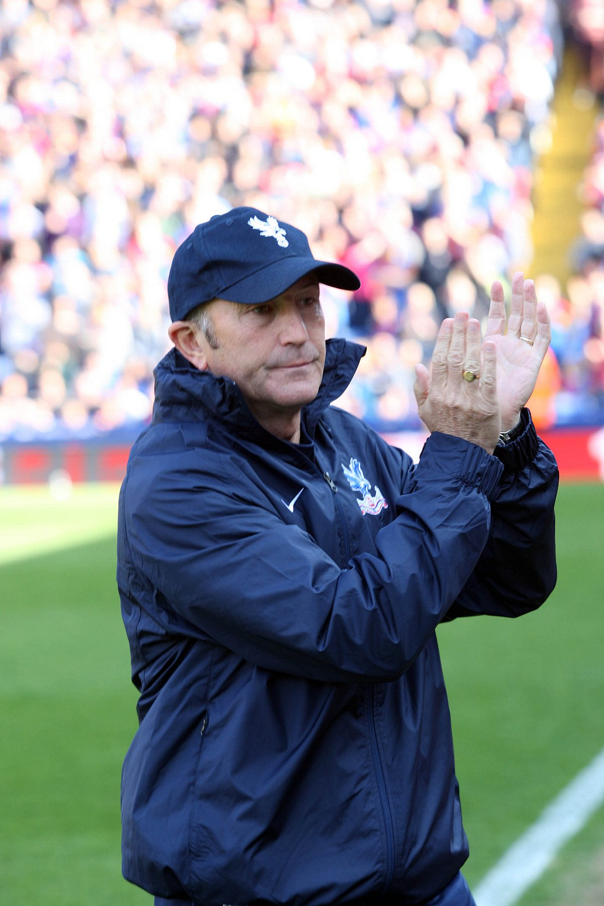 Accolade: Tony Pulis has been named manager of the year at the LMA's end of season dinner last night