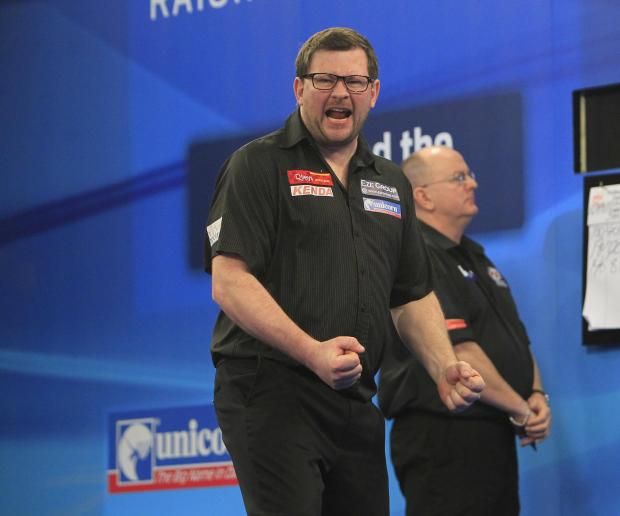 James Wade. Picture by Lawrence Lustig/PDC.