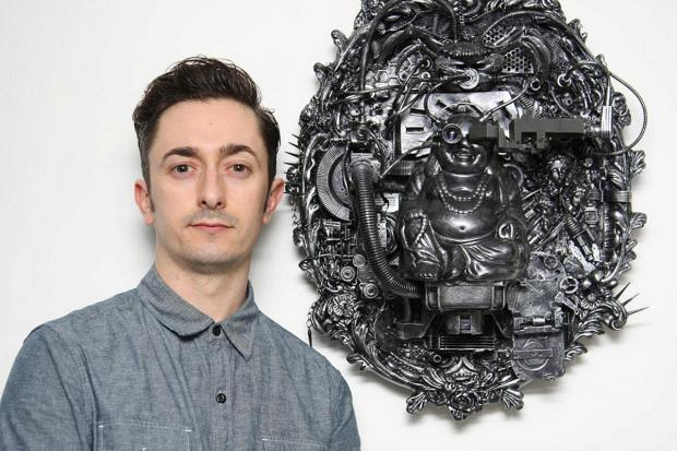 News Shopper: Dartford engineer creates sculptures out of fruit bowls and ceiling fans