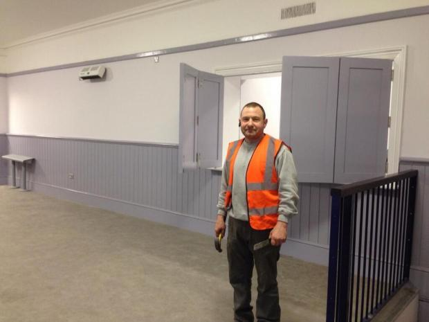Blackheath Station given lick of paint
