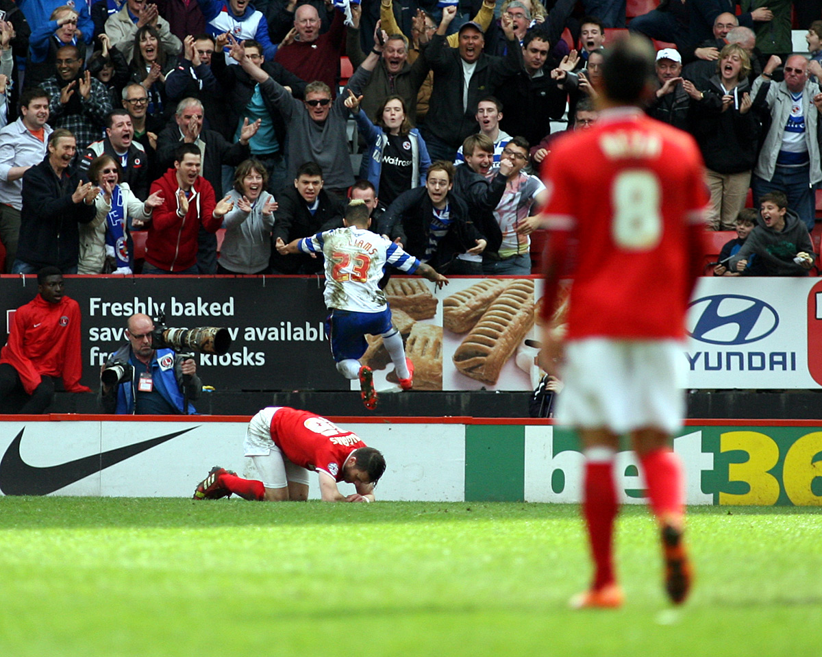 News Shopper: Danny Williams celebrates scoring his goal