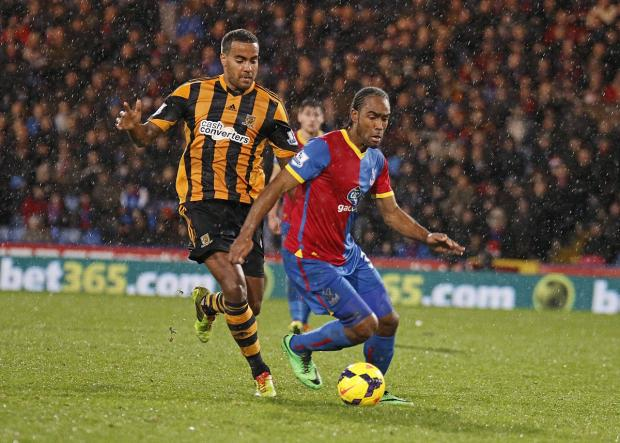 Cameron Jerome (above) scored a rare goal in Palace's victory on Merseyside