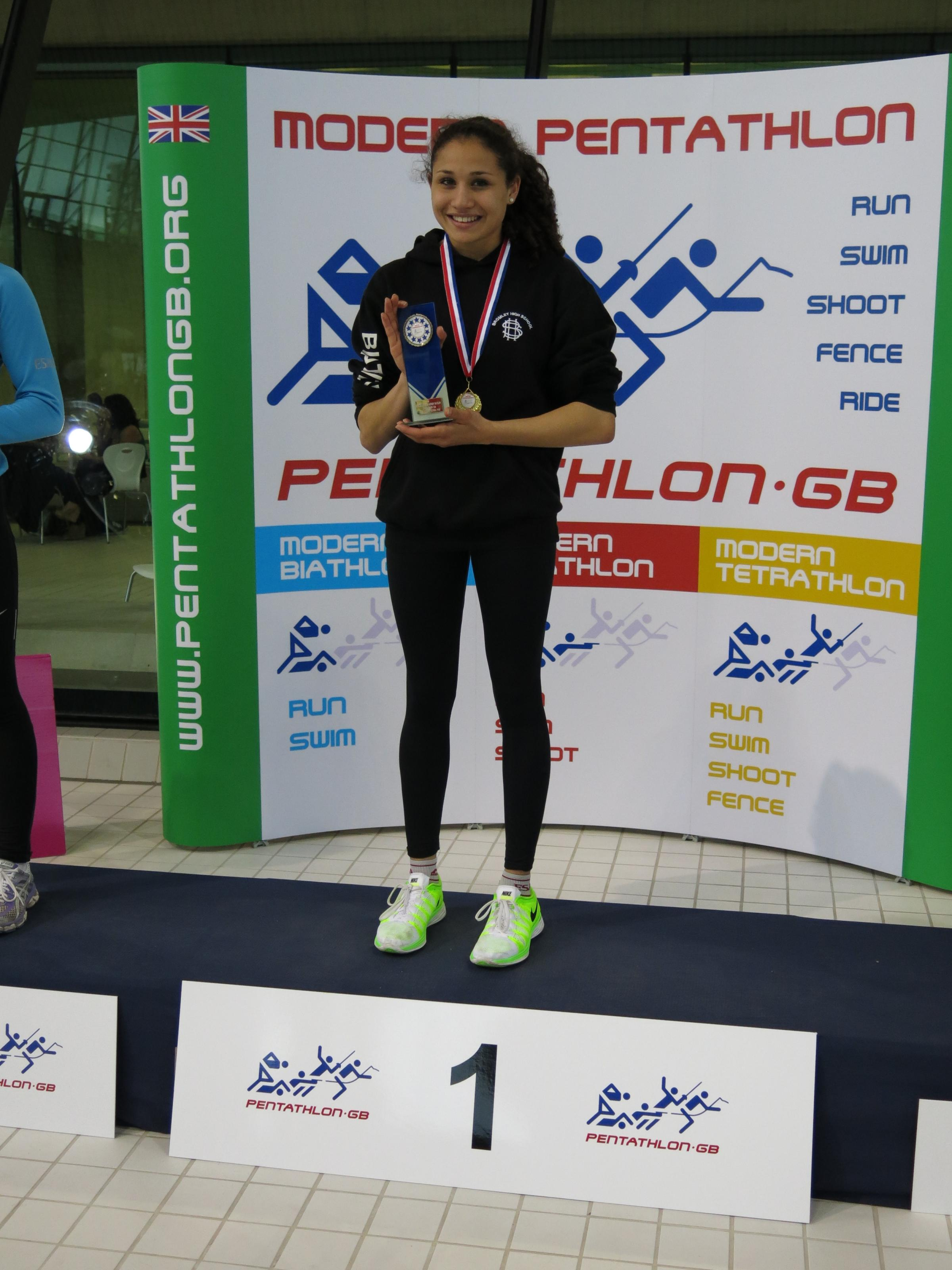 Bromley girls scoop national titles at London's Olympic Park