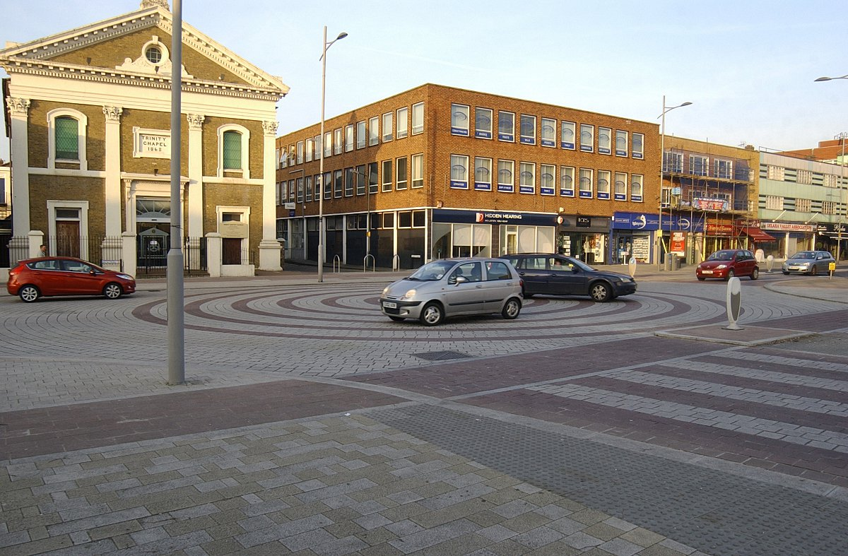 Bexleyheath was recently redeveloped
