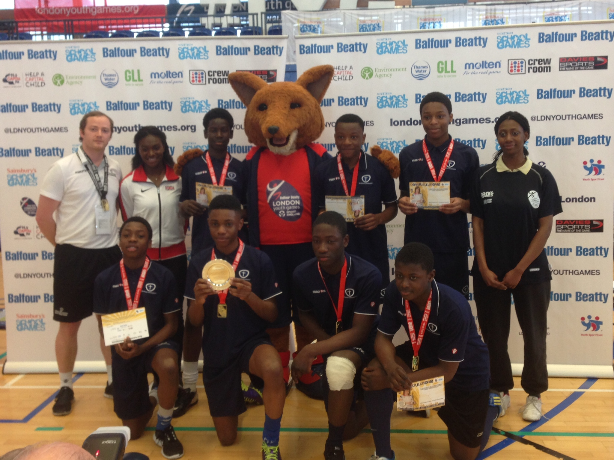 News Shopper: St Pauls' Academy girls