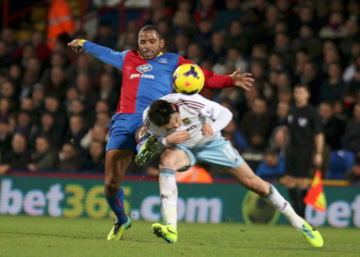 Winner: Jason Puncheon's fifth goal of the season sealed the points over Aston Villa